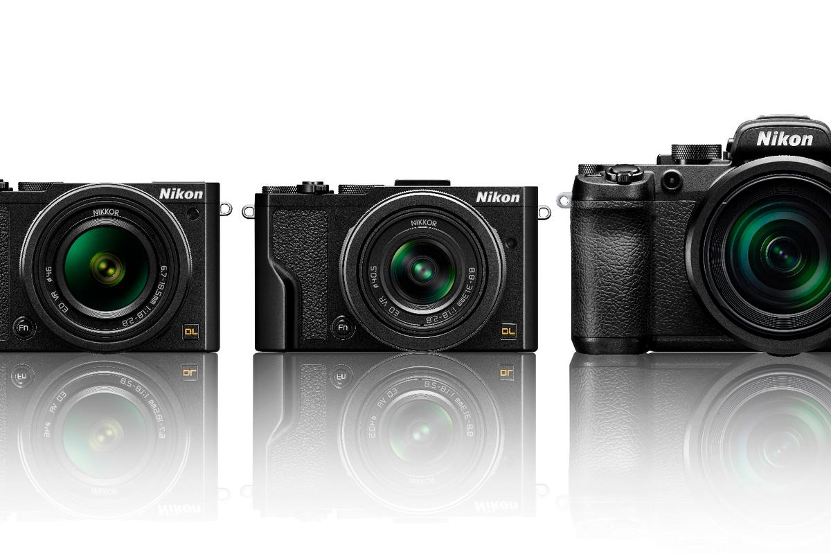 The Nikon DL-series are premium compact cameras with one-inch-type sensors