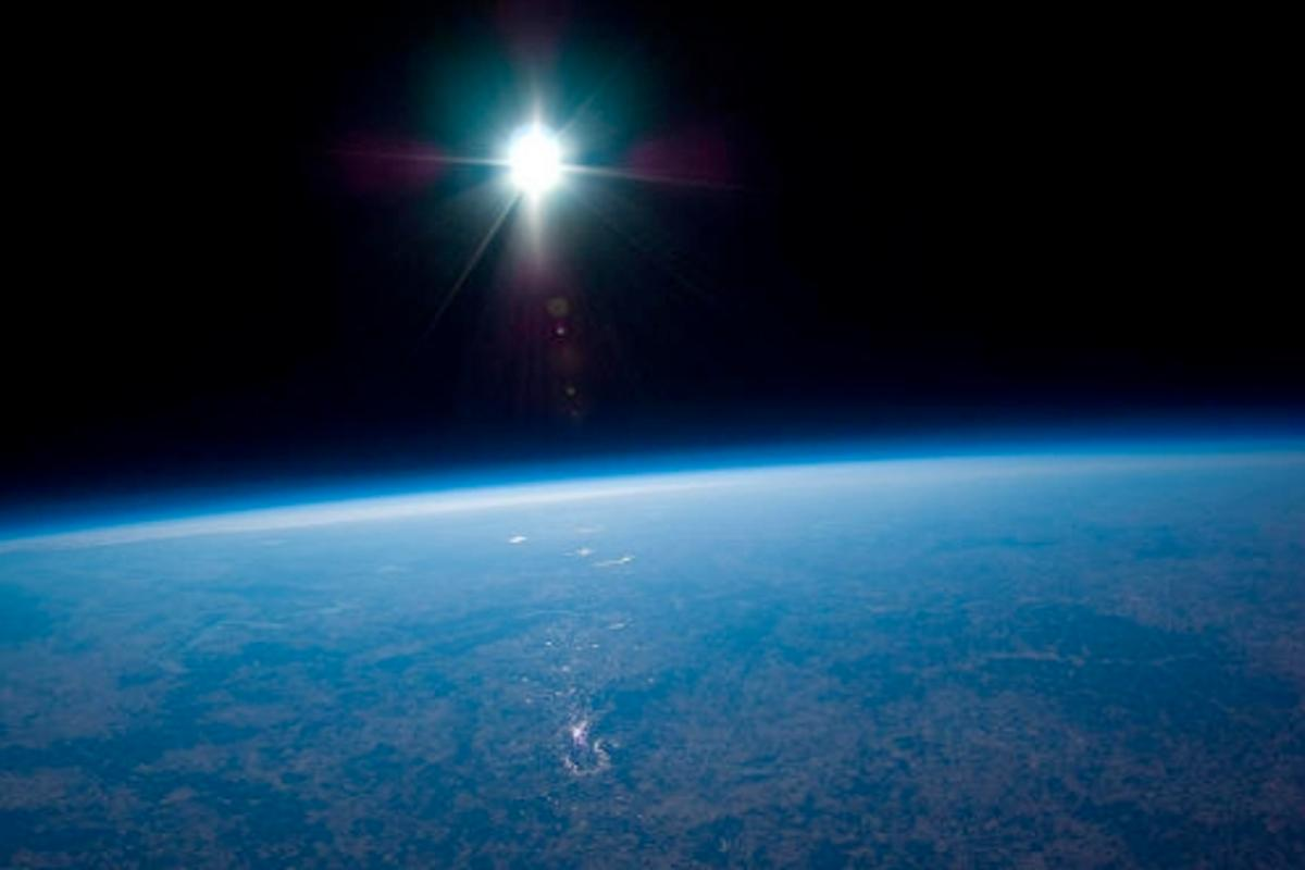 Far out ... the blackness of space at 100,000ft. Traveling to destinations like this one could soon become more readily available