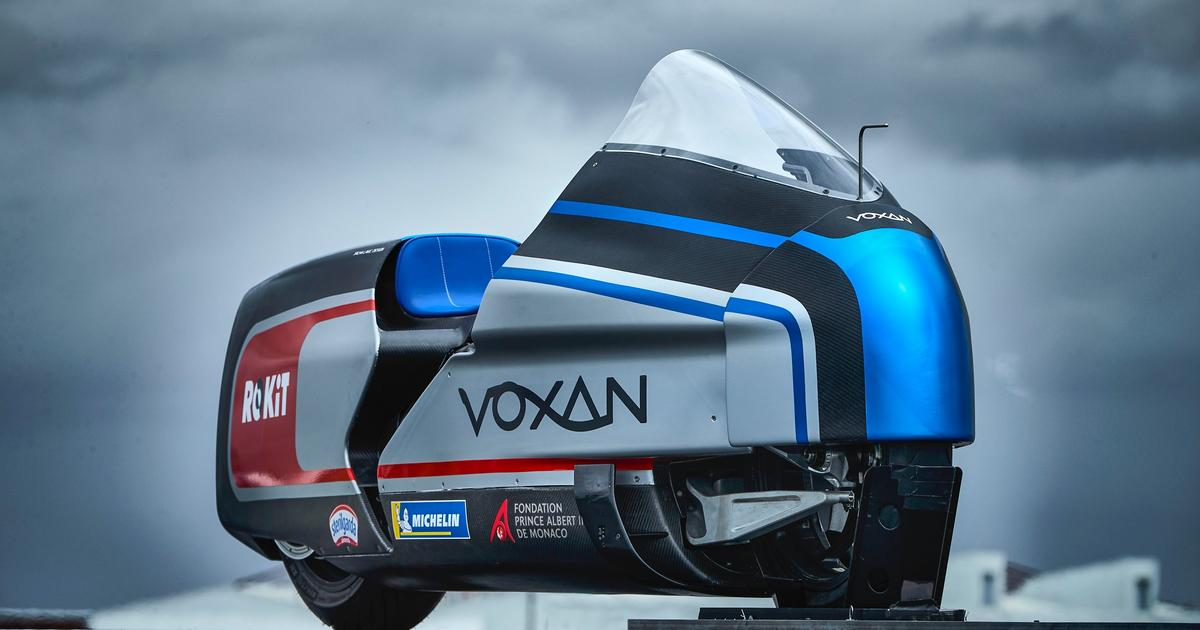 Voxan reveals its 367-hp Wattman electric land speed attempt motorcycle