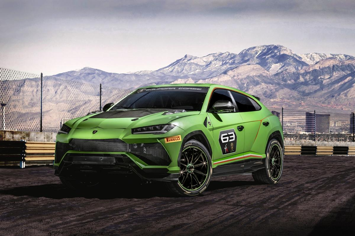 Lamborghini Urus ST-X Concept: a fully kitted race-ready SUV that'll take to the track in 2020 in a single-make race series