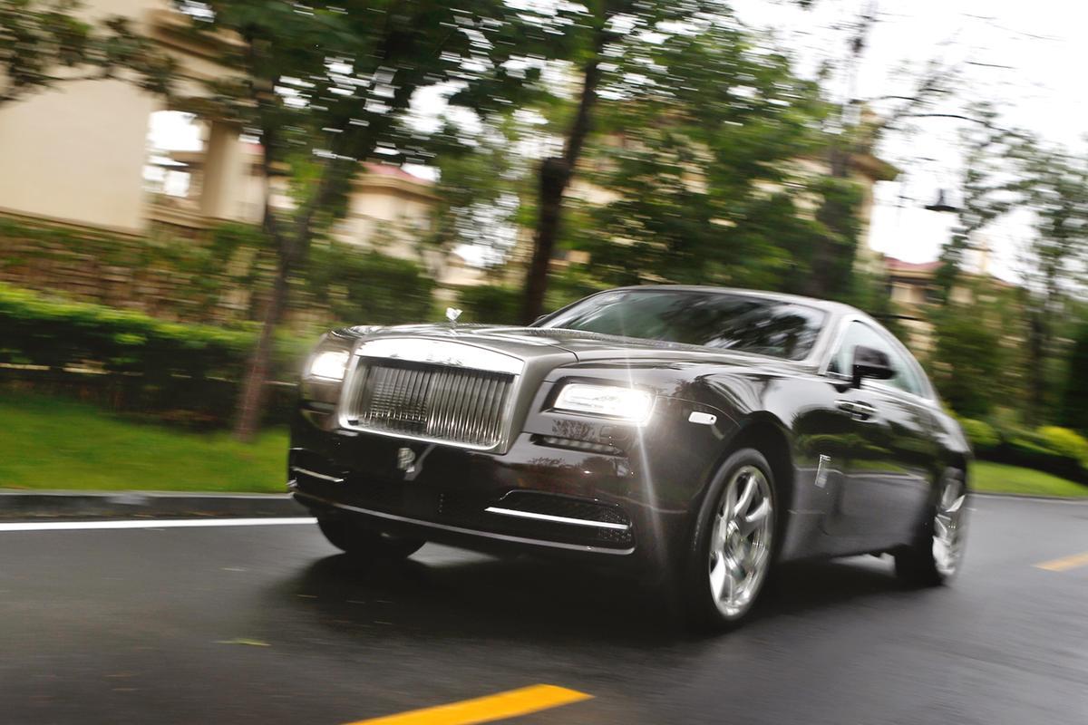 The Rolls-Royce Wraith (Photo: Rolls-Royce)