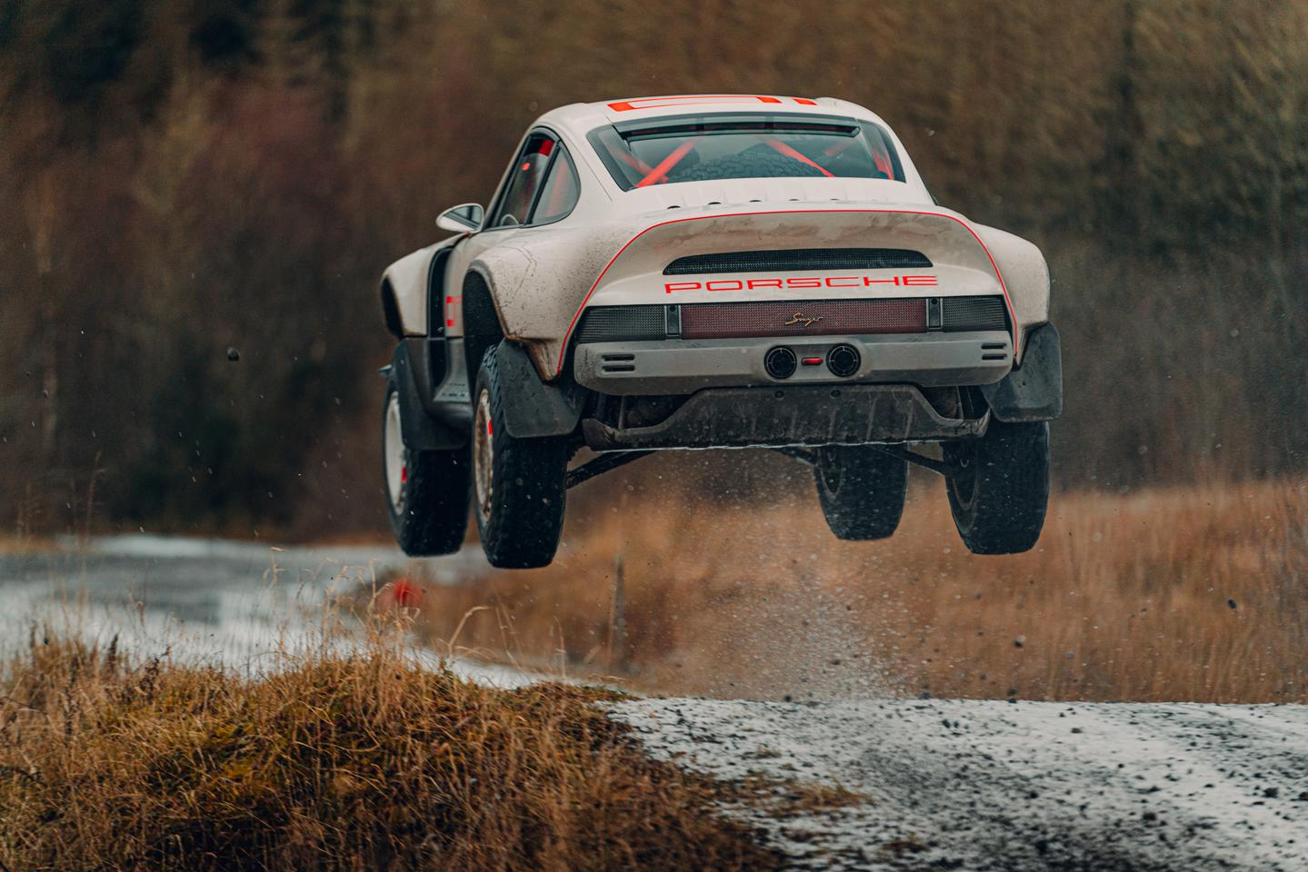 The Singer Porsche All-Terrain Competition Study sends Singer's restomod business soaring forward