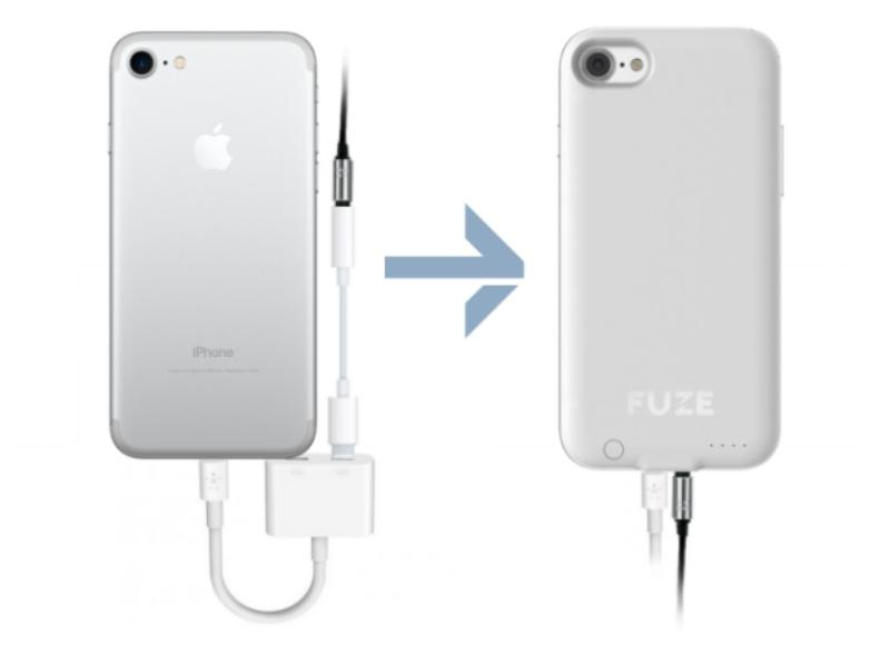 Fuze brings back the headphone jack by hiding an adapter within its core