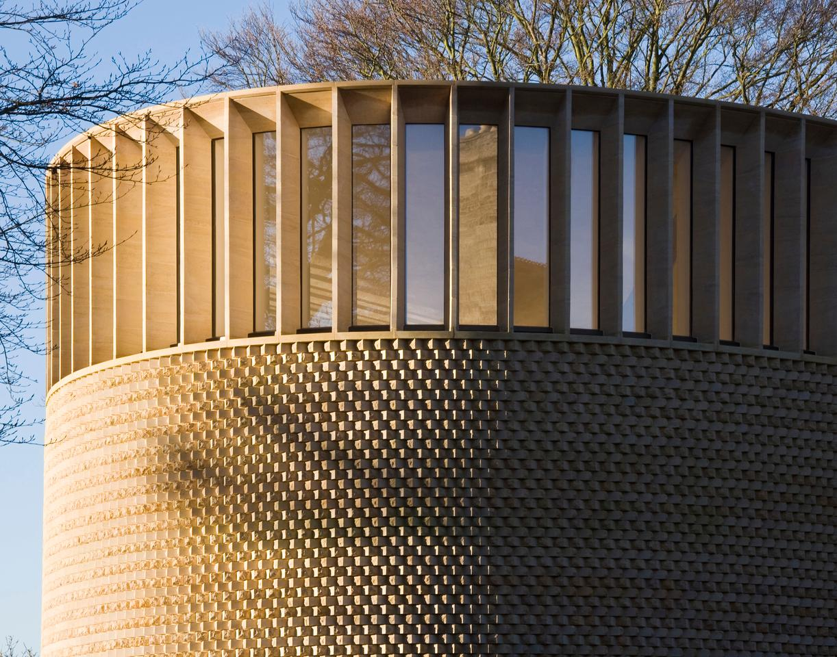 The Bishop Edward King Chapel(Photo: Niall McLaughlin Architects)
