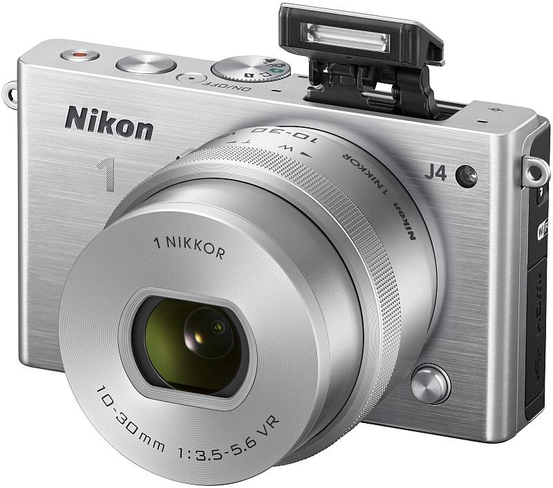 The Nikon 1 J4 features an 18.4 megapixel CX-format (13.2 x 8.8 mm) CMOS image sensor and Nikon's new EXPEED 4A image processor