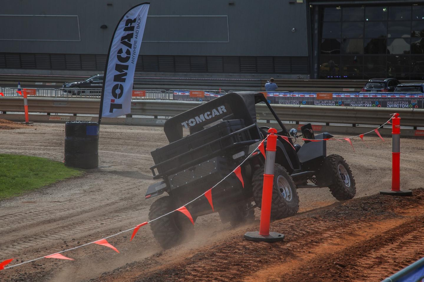 The Tomcar in action at the Australian Motoring Festival (Photo: Nick Lavars/Gizmag.com)
