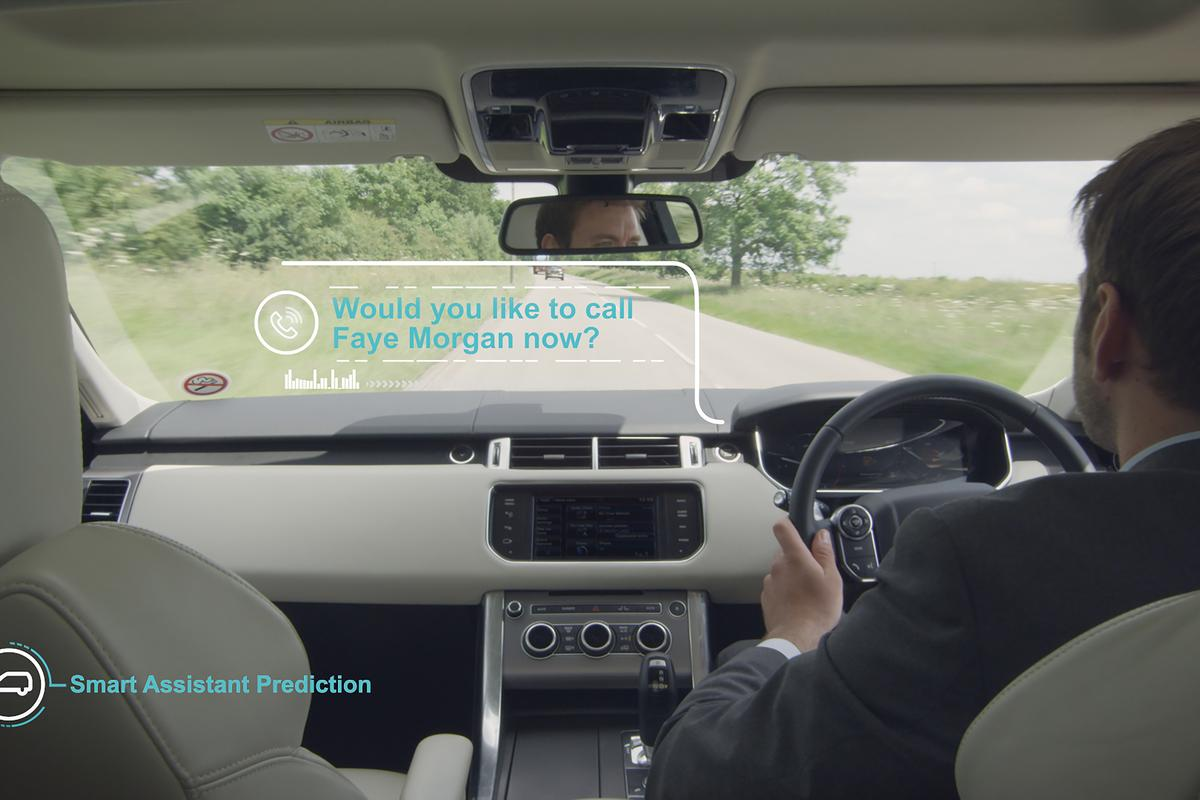 The Smart Assistant learns from you to anticipate your needs while driving