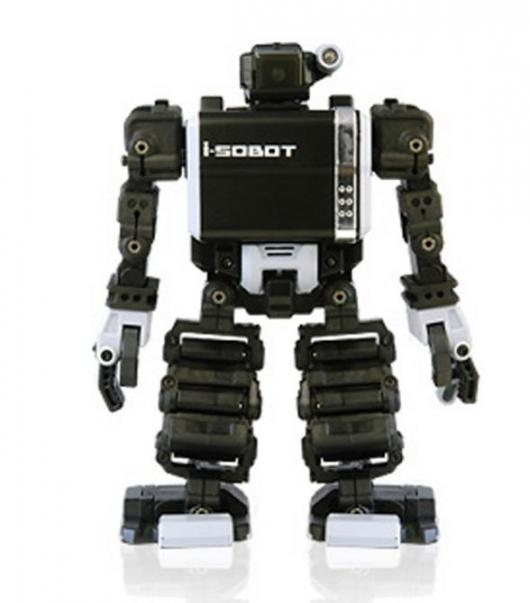 i-SOBOT: 6.5 inch fully articulating and bipedal robot