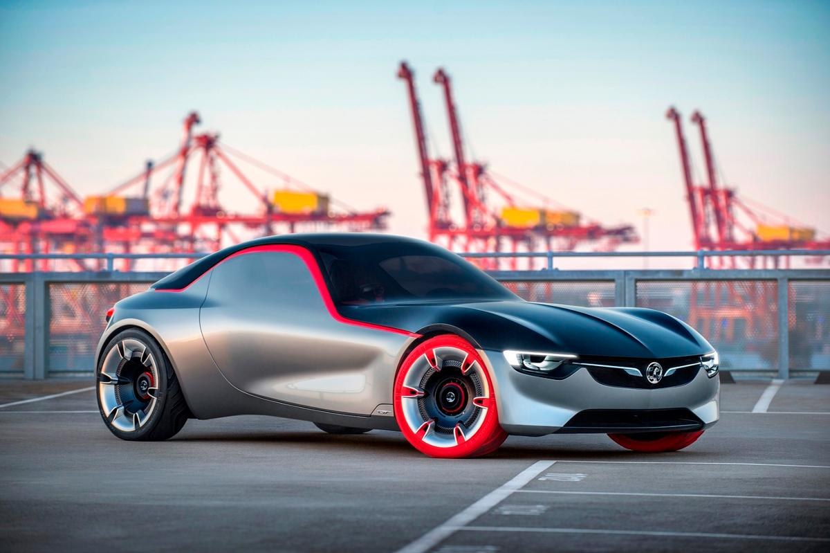 The GT Concept is described as purebred, pared-down and avant-garde