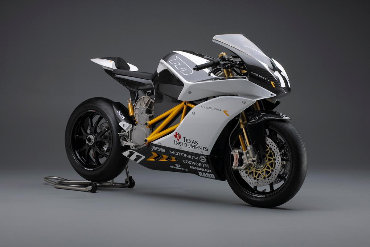 The Mission R electric superbike