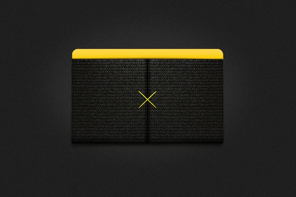 The Slim Wallet looks sleek in black