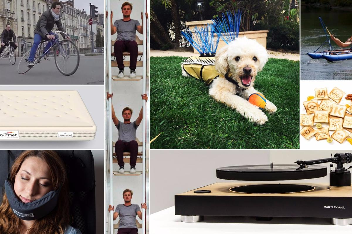 "We look at some of the more ""interesting"" inventions to cross our desk in 2016"