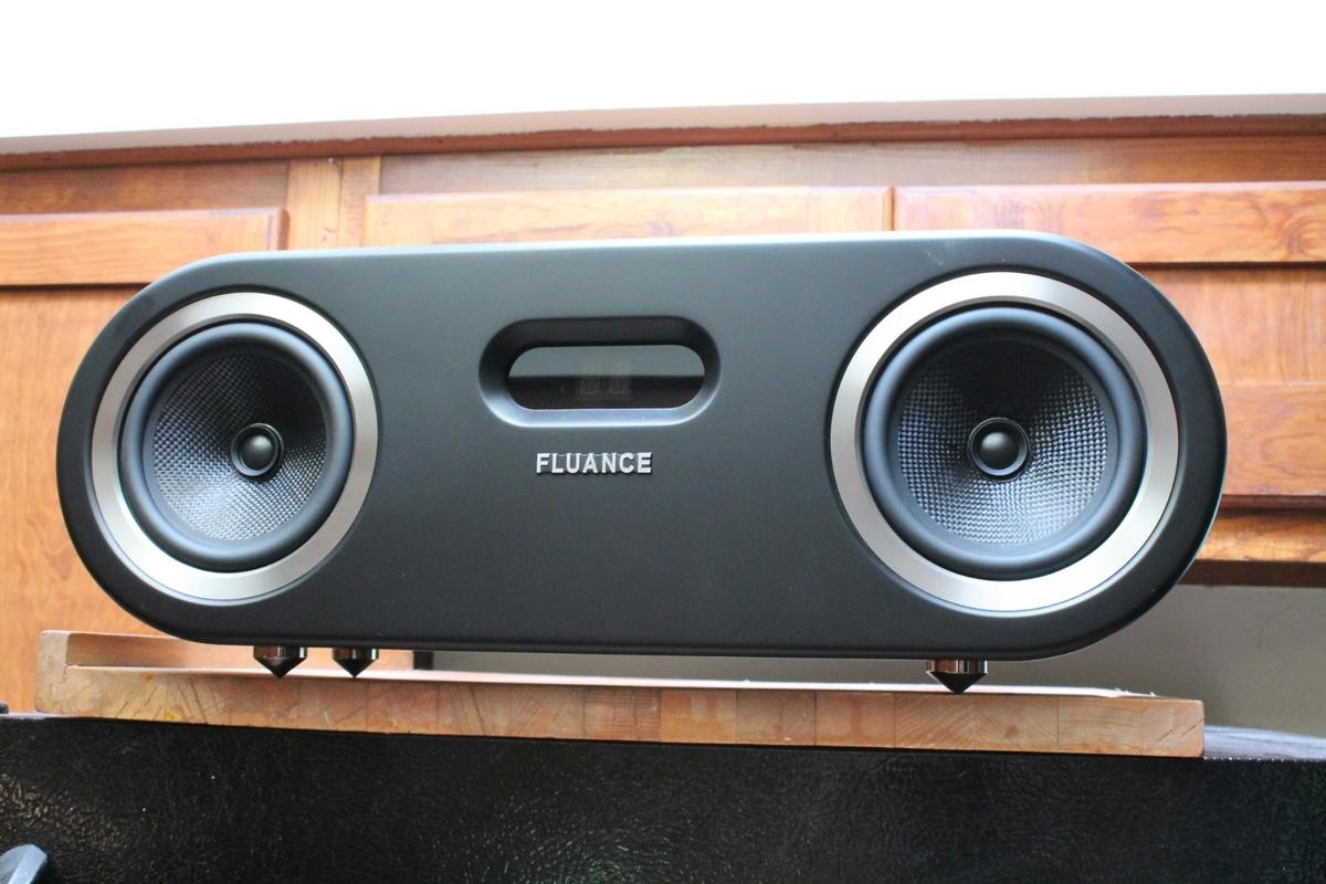 The Fluance Fi50 boasts a pair of full-range 5-inch woven woofers