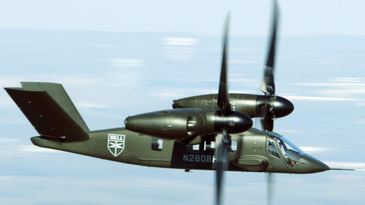 The Bell V-280 Valor rotorcraft carried the Lockheed Martin PDAS for the first time last month