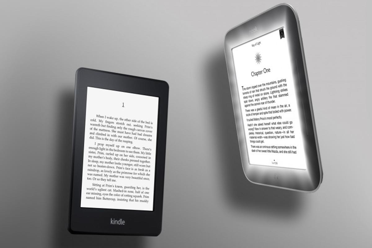 Which of the two glowing eReaders comes out ahead?