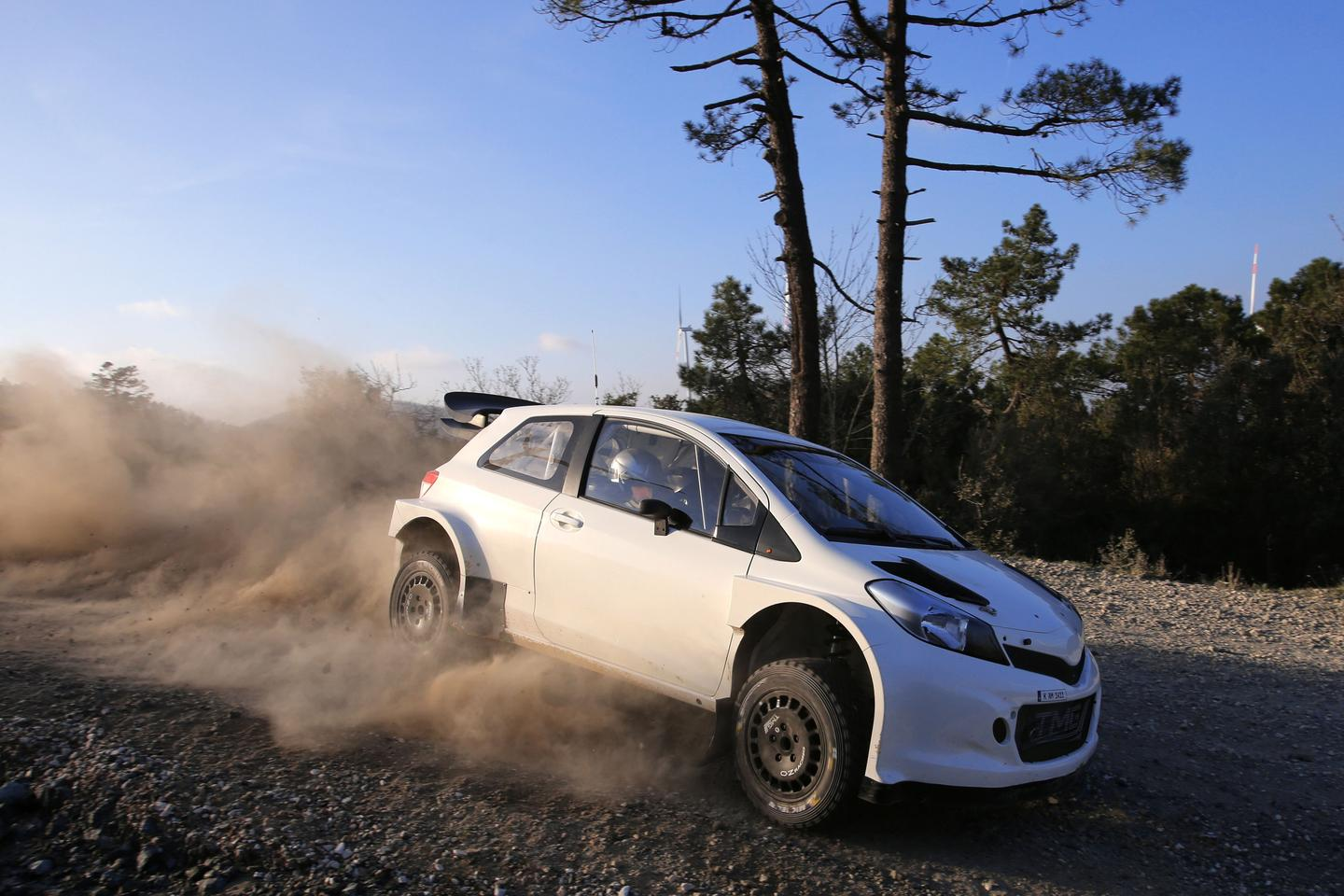 The Yaris WRC is currently in testing