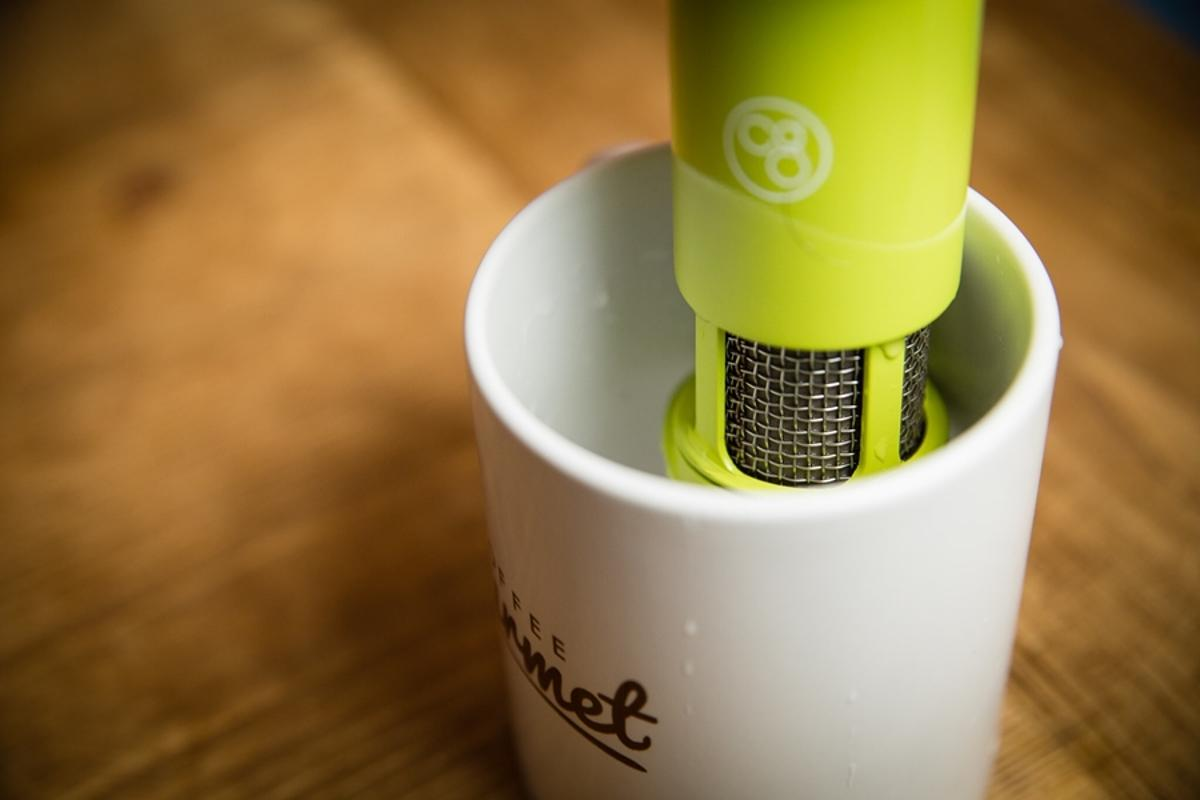 The Coffee Gourmet is a one-cup coffee filter (Photo: TS Design)