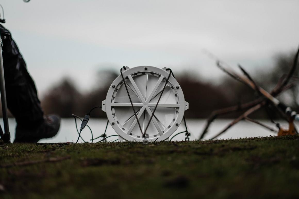 The Giga portable wind turbine is presently on Kickstarter