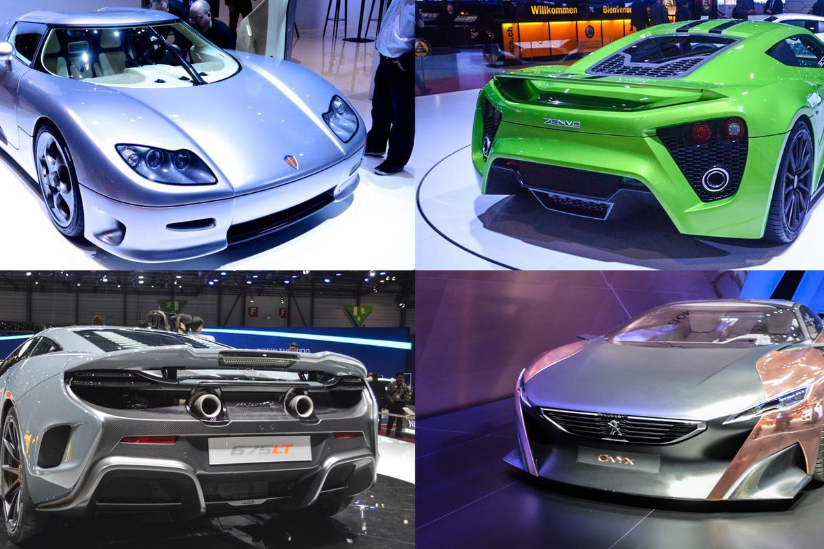 Performance cars of Geneva 2015 (Photo: C.C. Weiss/Gizmag.com)