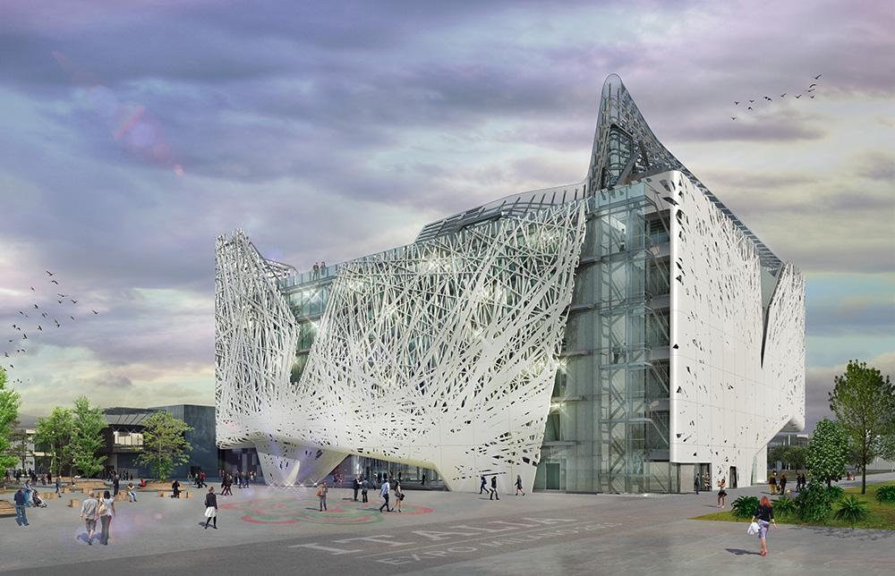 Italian architectural firm, Nemesi & Partners has revealed its plans to clad Palazzo Italia in Milan with an air-purifying façade