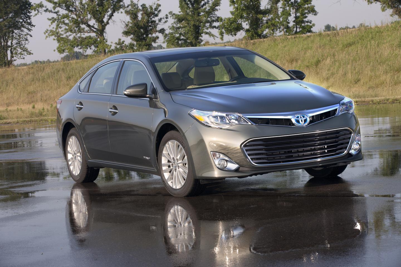 The 2013 Toyota Avalon (Image: Toyota)