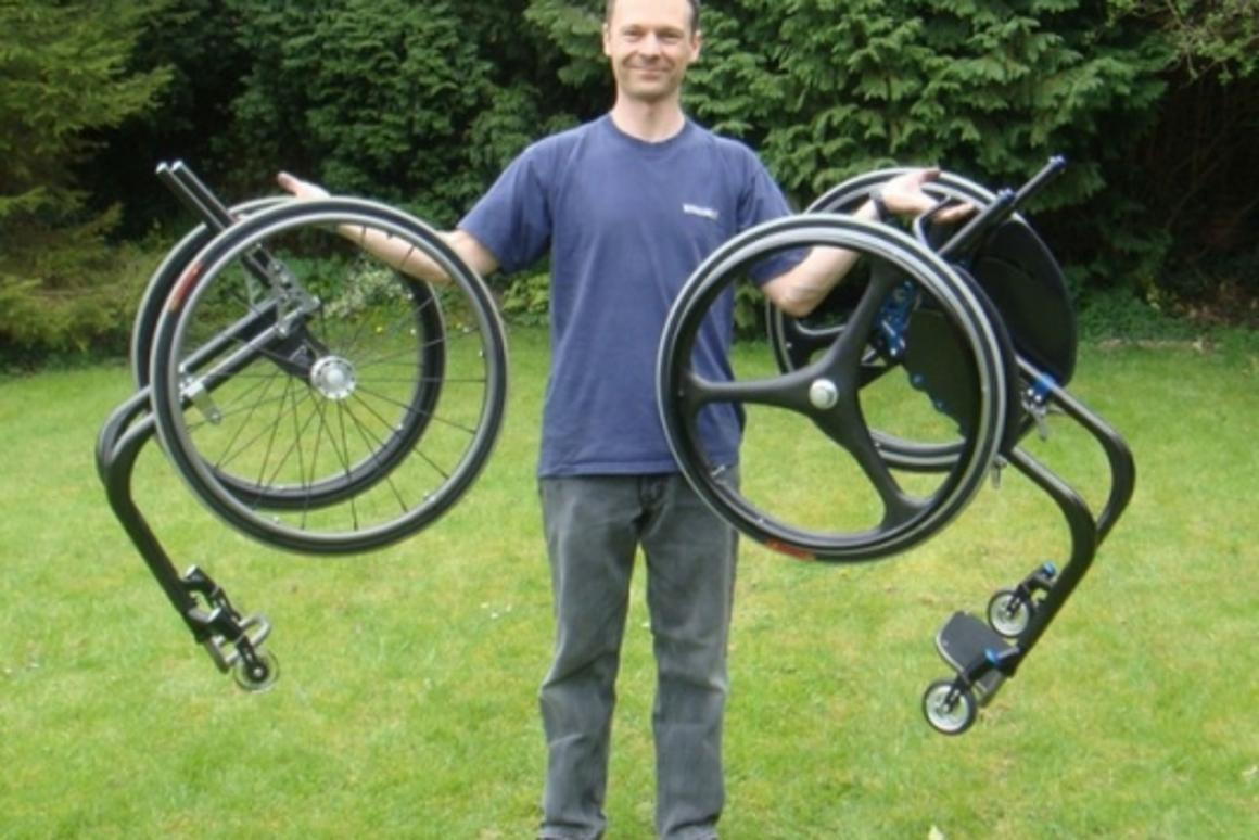 Marcus Cunnington and his ultra-light creations