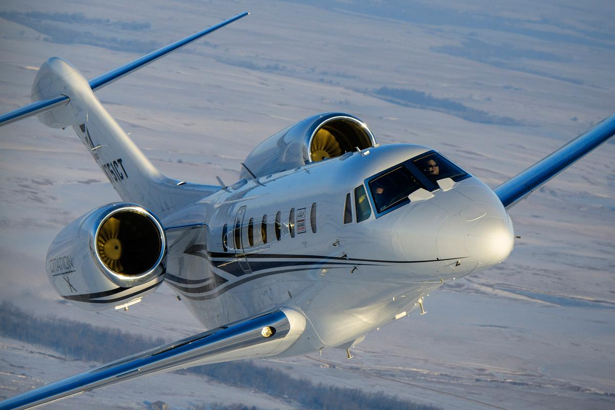 The Citation X has been confirmed as the world's fastest civilian aircraft