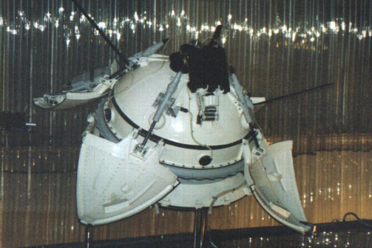 Mars 3 lander (Image: NASA)