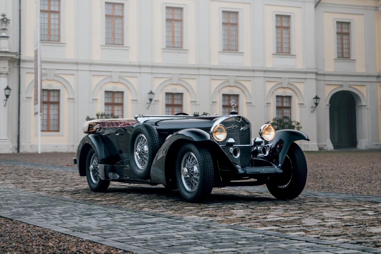 "1935 Mercedes Benz 500k Luxury Roadster 11 X 14/"" Photo Print"
