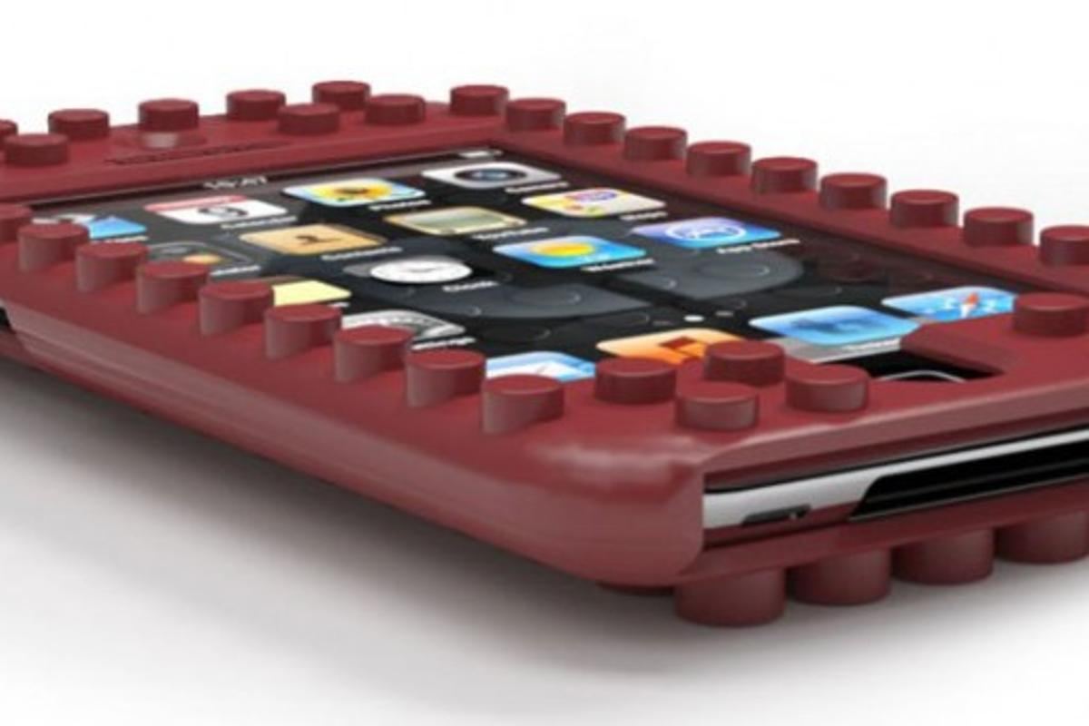 With the TinkerBrick case, you can connect your iPhone or iPod touch to any Lego piece to build interactive toys, useful attachments, and much more