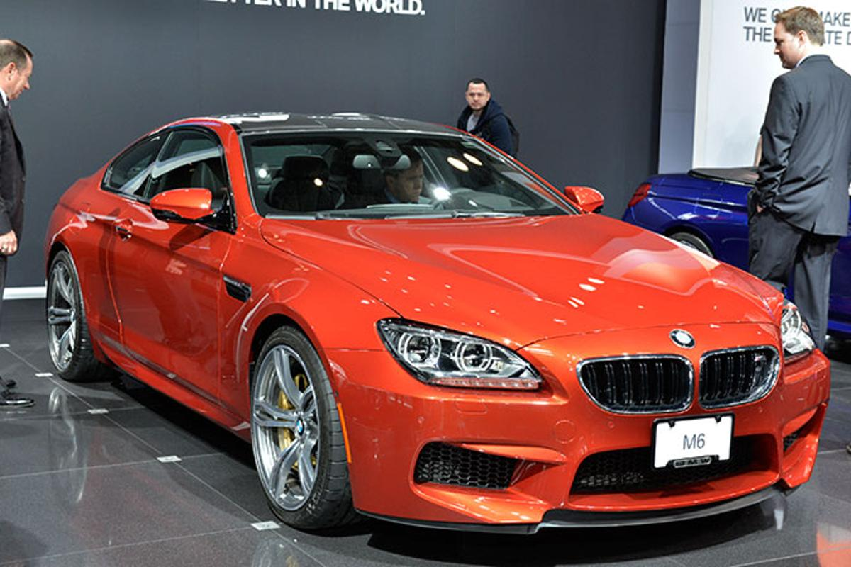 BMW M6 coupe at the New York Auto show