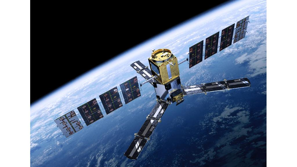 The Soil Moisture and Ocean Salinity (SMOS) mission will make global observations of soil moisture over Earth's landmasses and salinity over the oceans (Image: ESA - AOES Medialab)