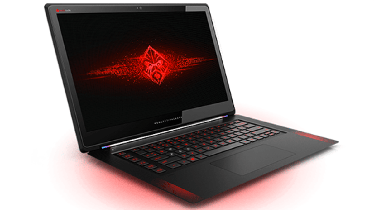 The Omen is a comparatively thin notebook with capable internals and a premium, stylish build