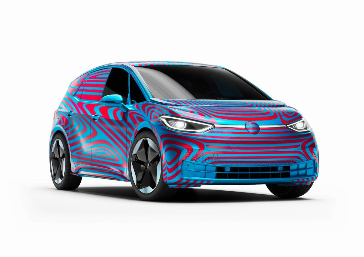 Volkswagen will offer three battery options for the ID.3