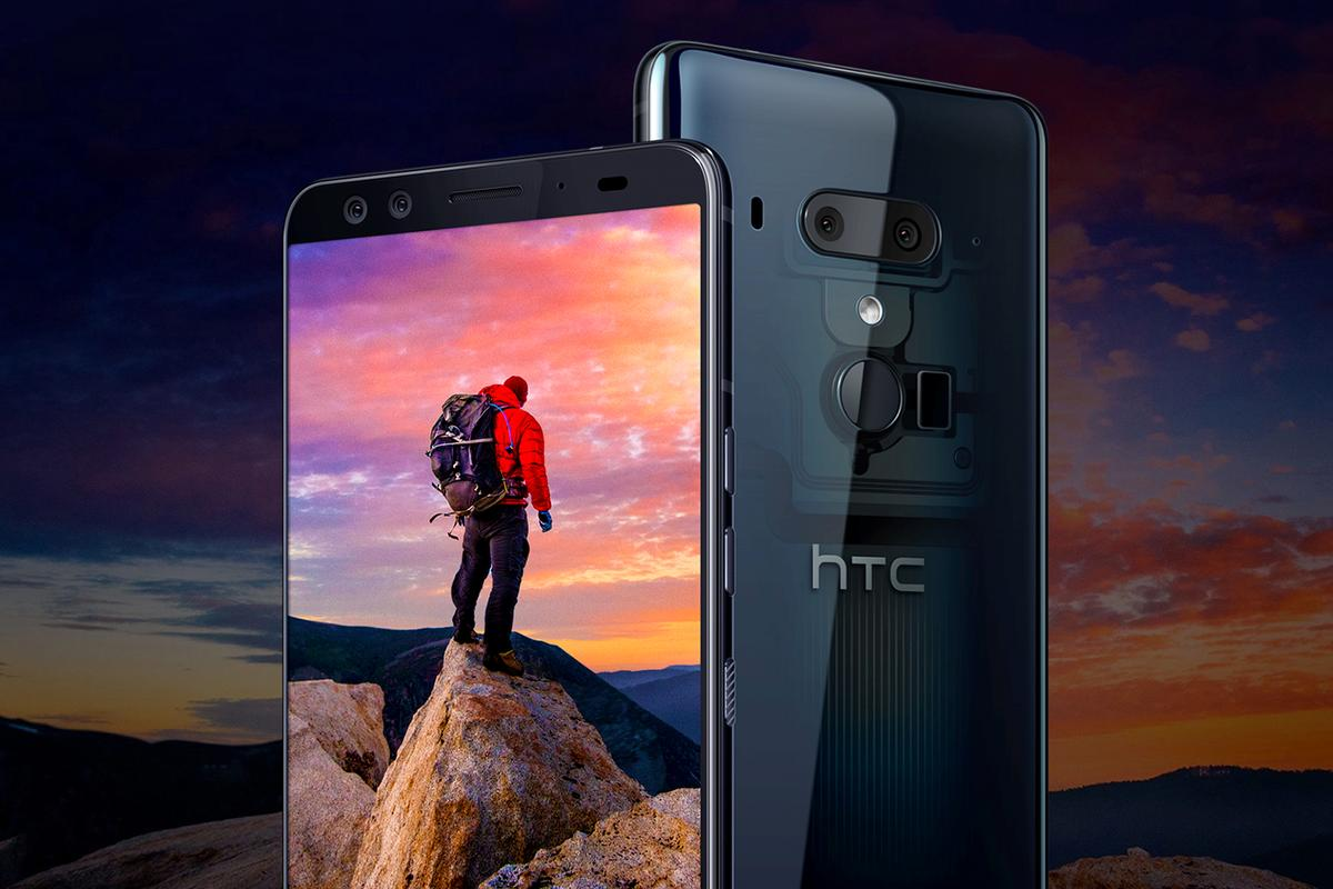 The display and rear camera are the standout features of the HTC U12+