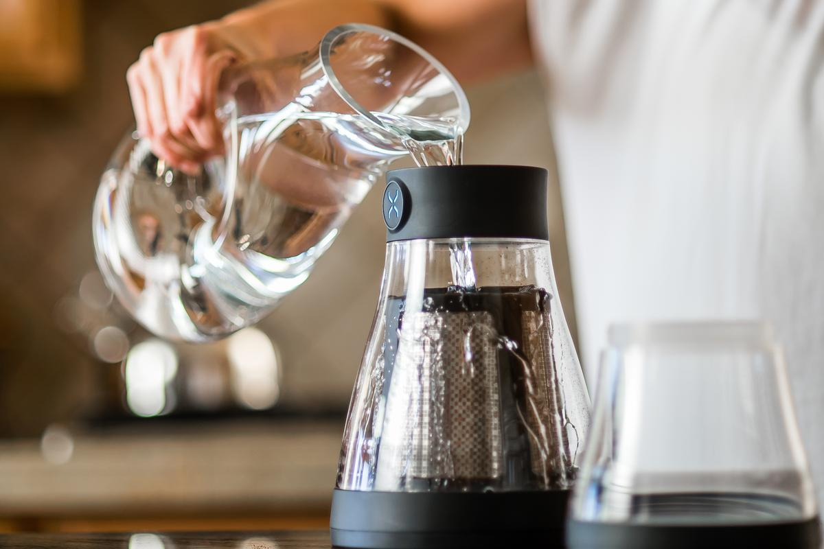 BodyBrew is a cold brew coffee maker aimed at coffee aficionados who don't mind taking a little time to get their favorite drop