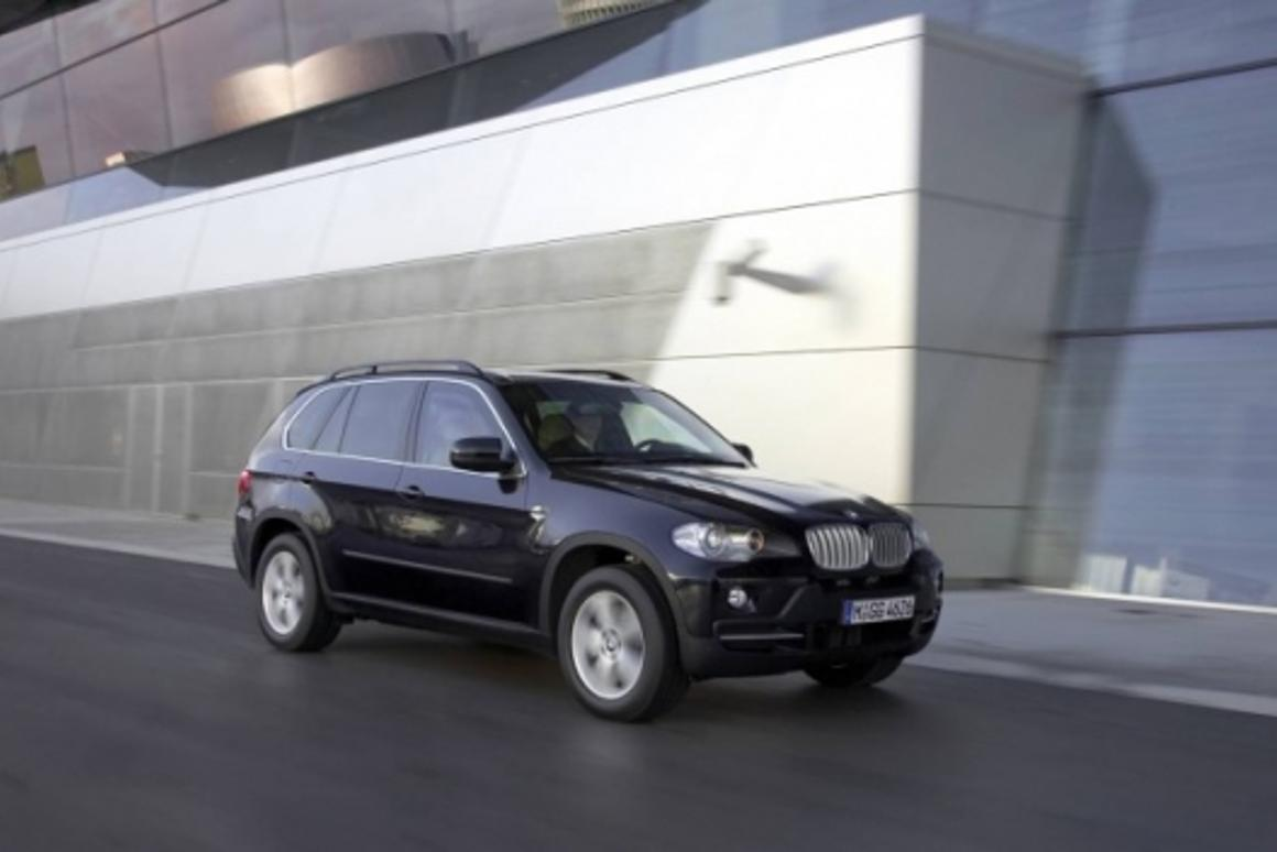 The new BMW X5 Security Plus is AK47-proof