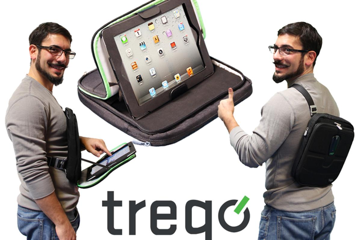 Trego is a versatile iPad case and bag