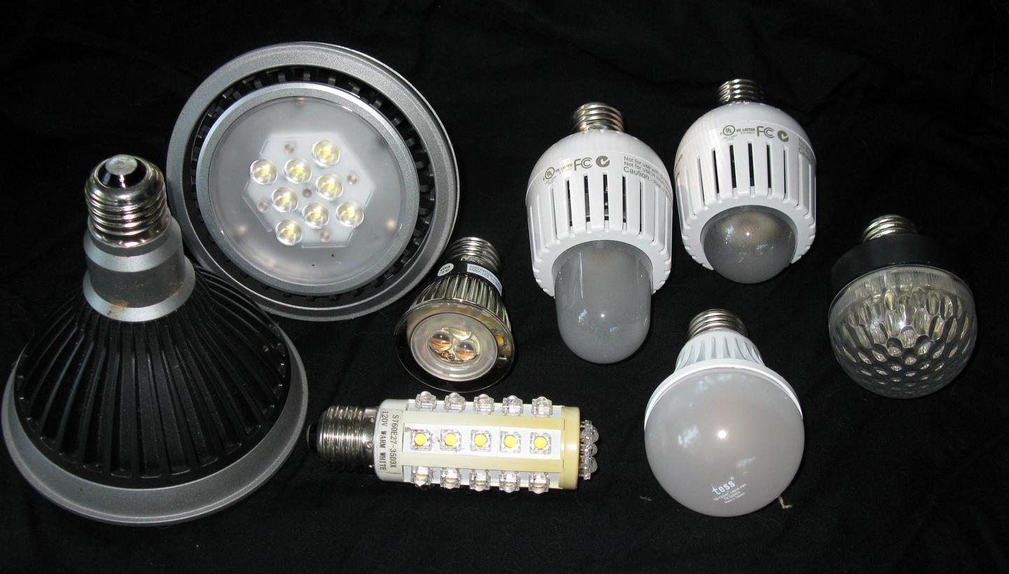 A new study from the University of California indicates that LED lights contain toxic metals, and should be produced, used and disposed of carefully (Photo: Geoffrey A. Landis)