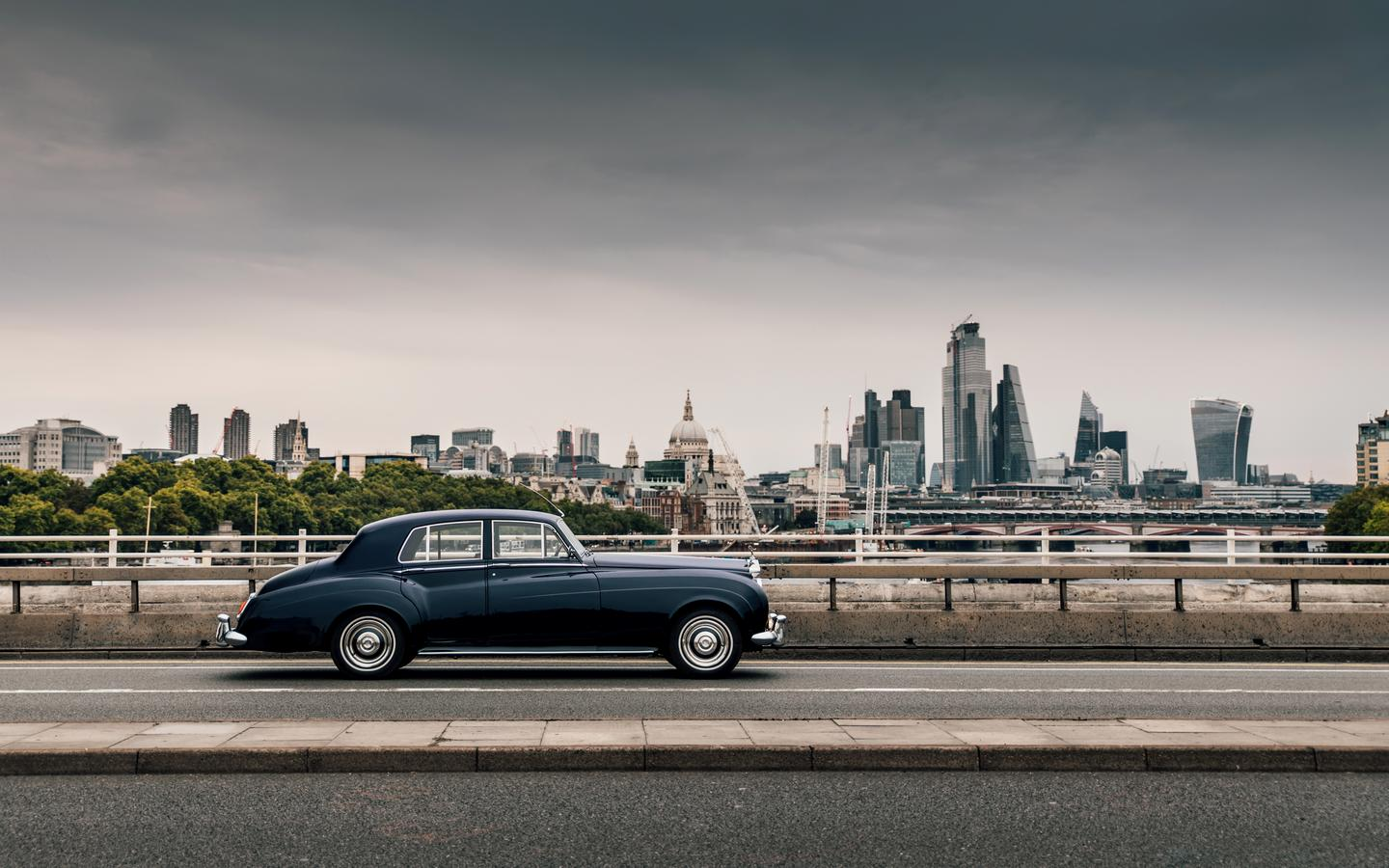A 1956 Rolls-Royce Silver Cloud will be among the first cars completed
