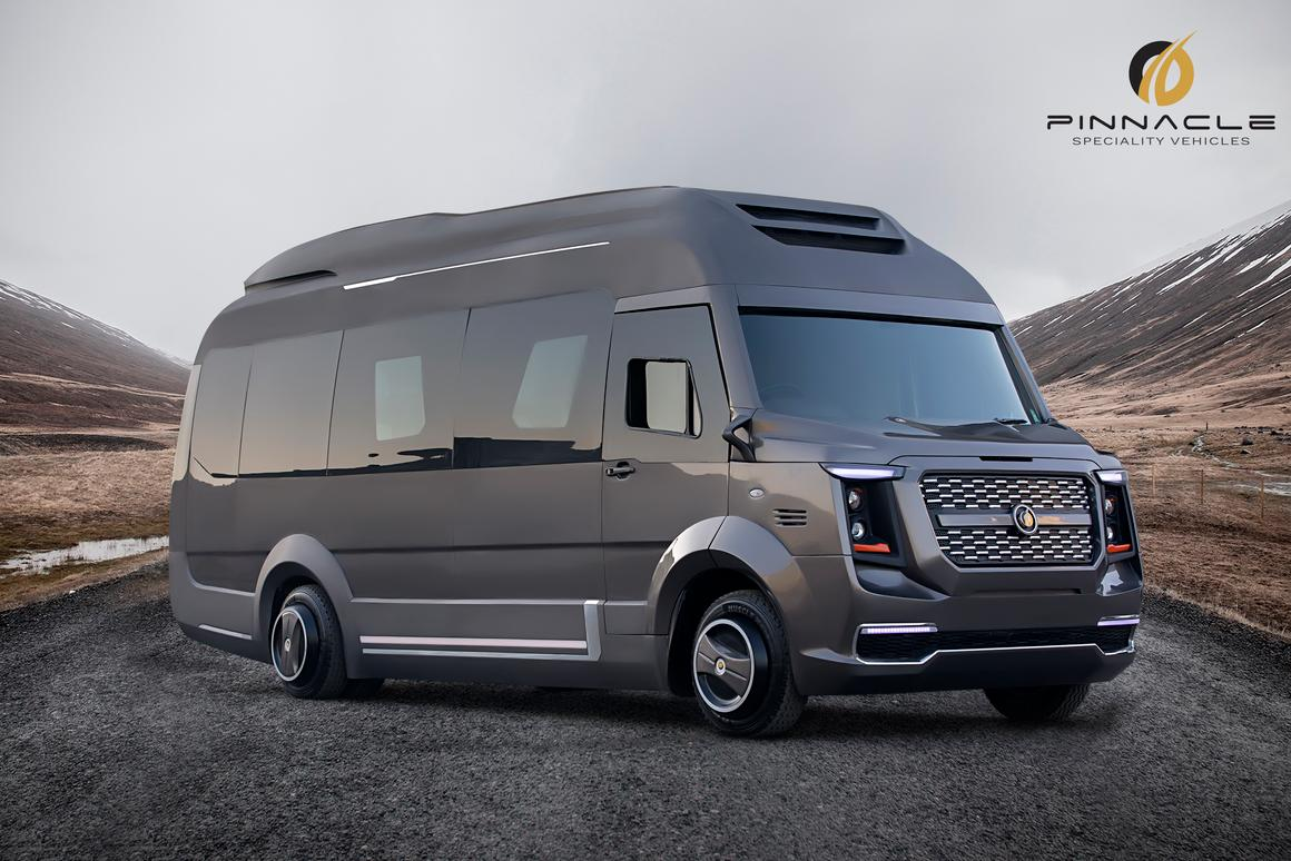 Finetza expanding camper van is part beauty, part beast