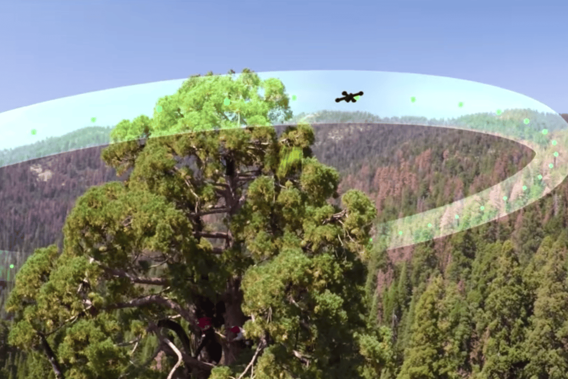 A single drone flightcan provide the scientists with information that they would never get with the naked eye
