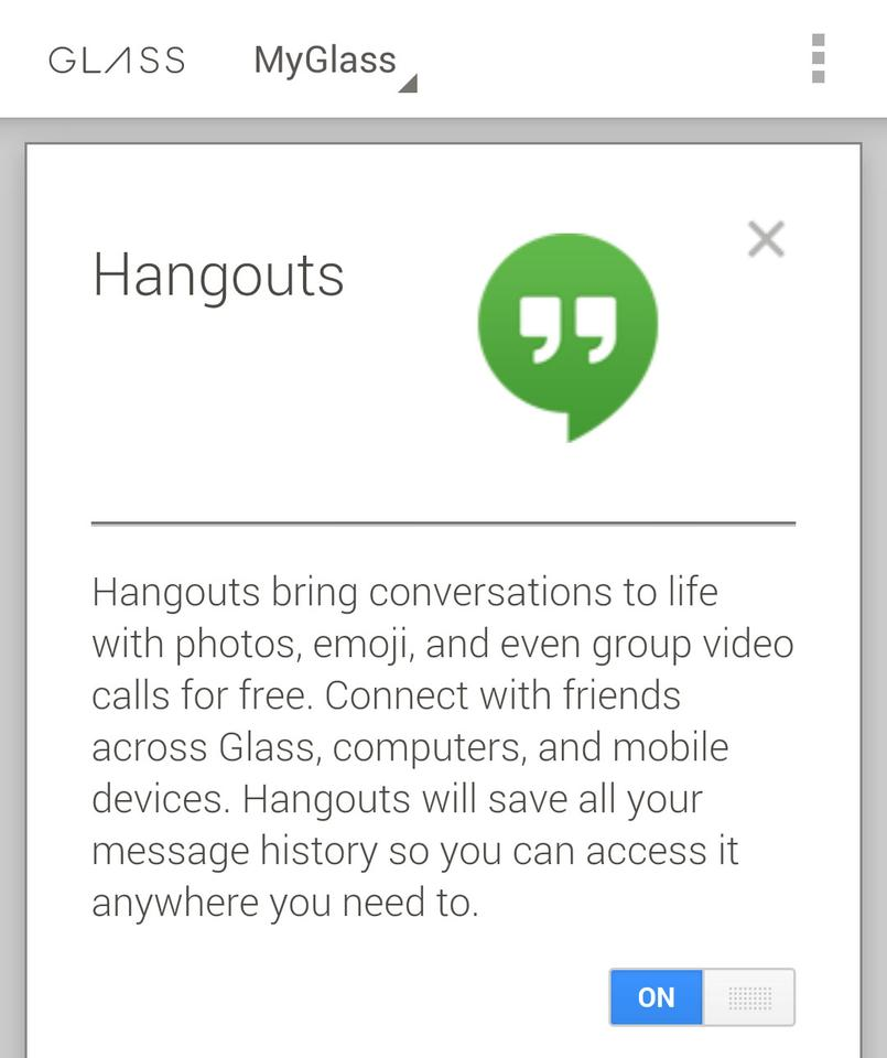 Hangouts messaging is now compatible with Glass, just be prepared for it to hijack all of your other messaging needs