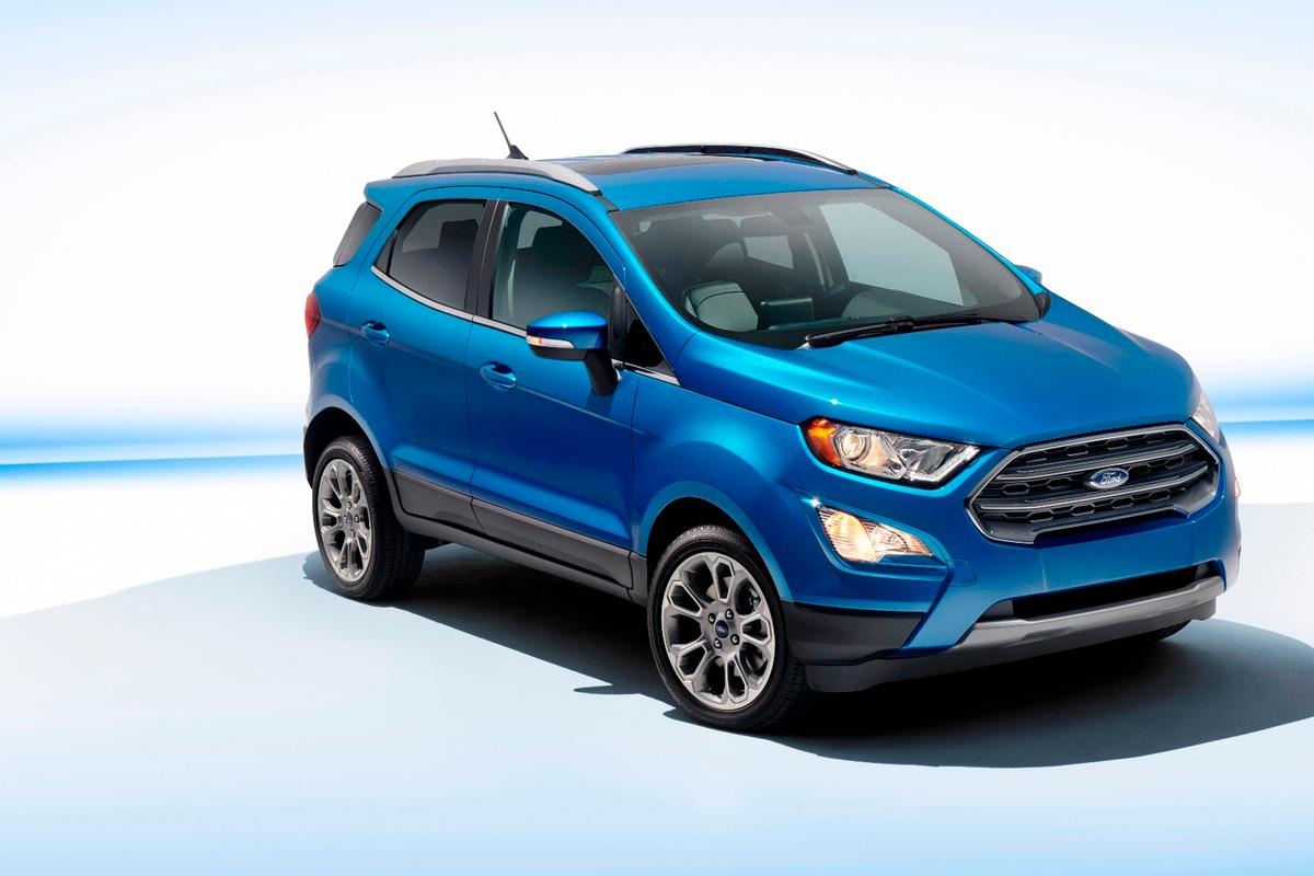 The EcoSport will debut at the LAMotor Show, but doesn't land in showrooms until early 2018
