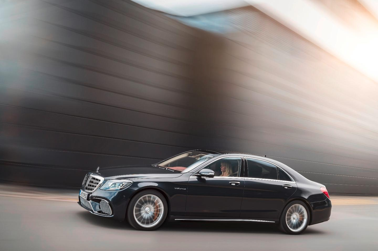 The new S-Class will launch with four engine options