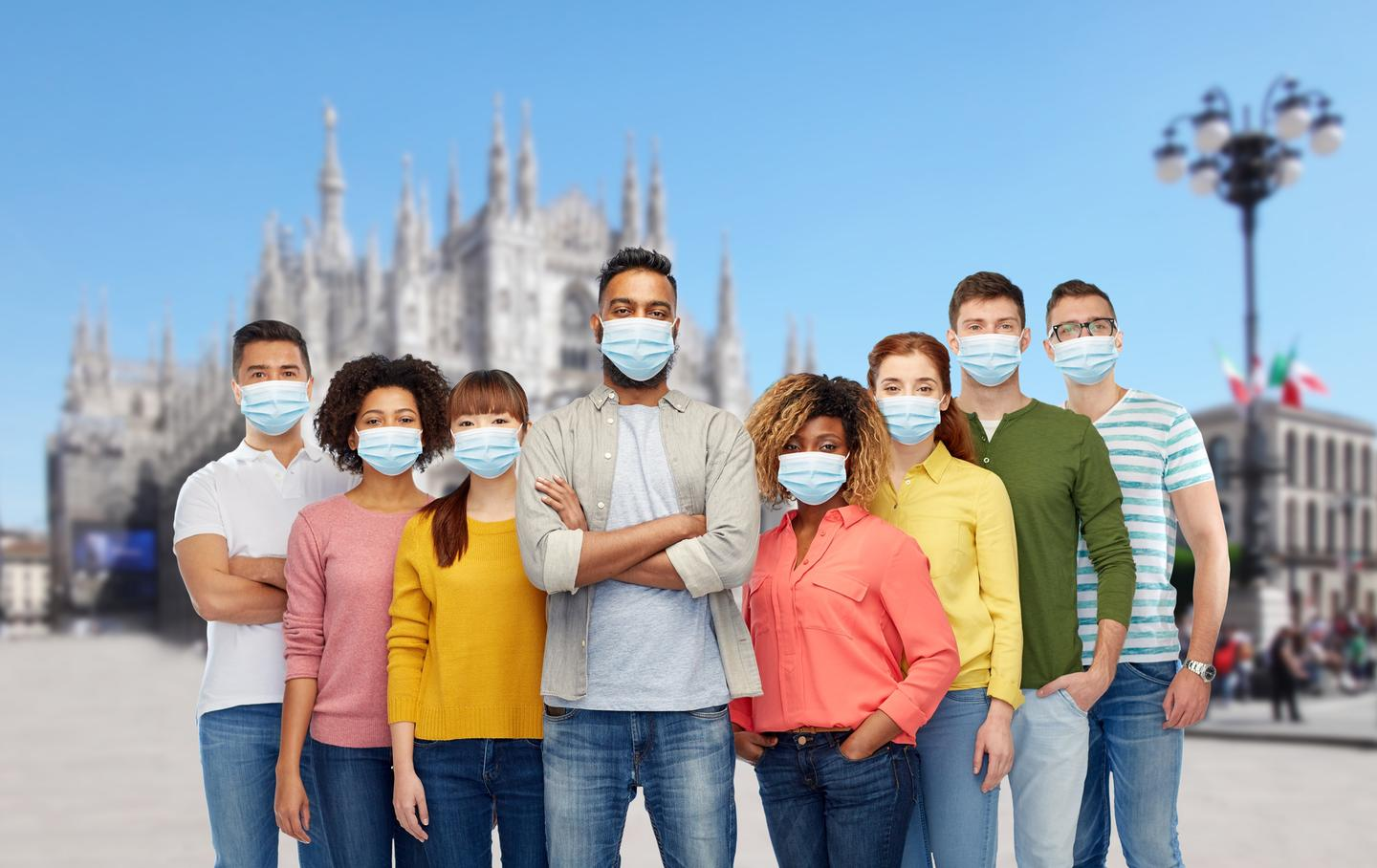 An editorial from three Cambridge University researchers argues any downsides from mass mask wearing are outweighed by the potential benefits