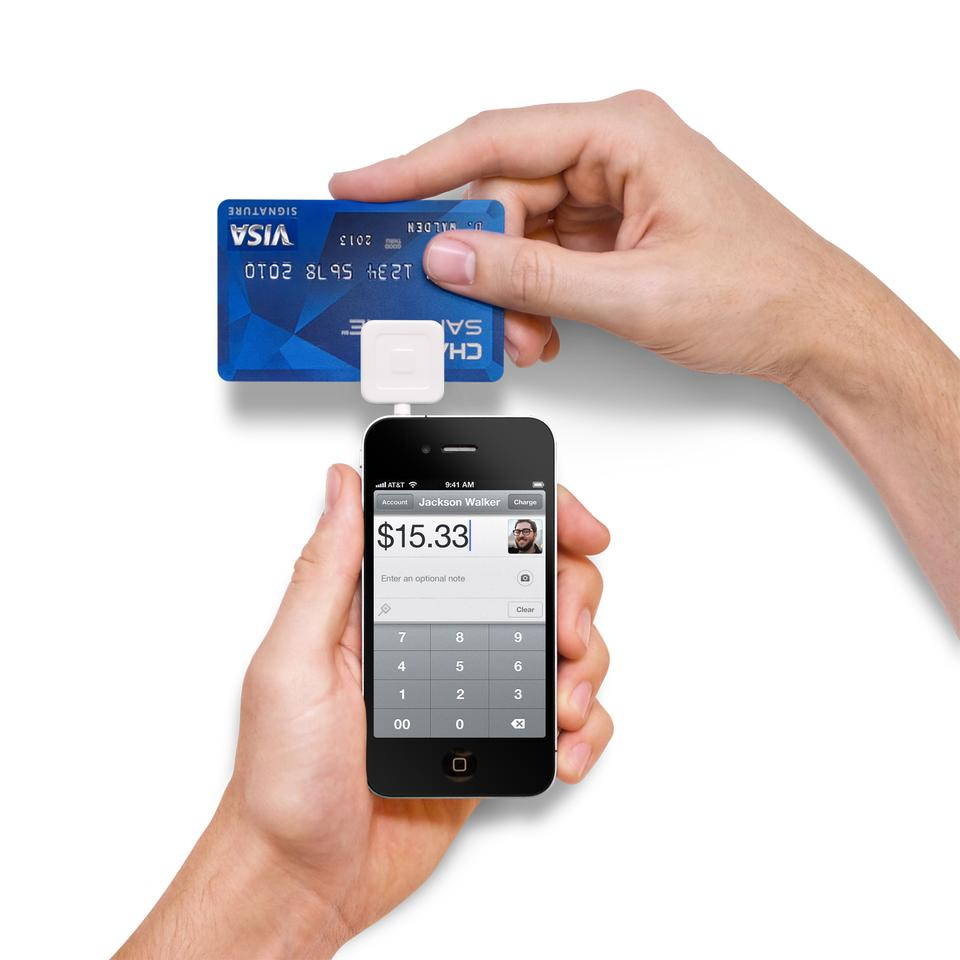 Square is a card reader and app system that allows mobile devices to receive credit or debit card payments