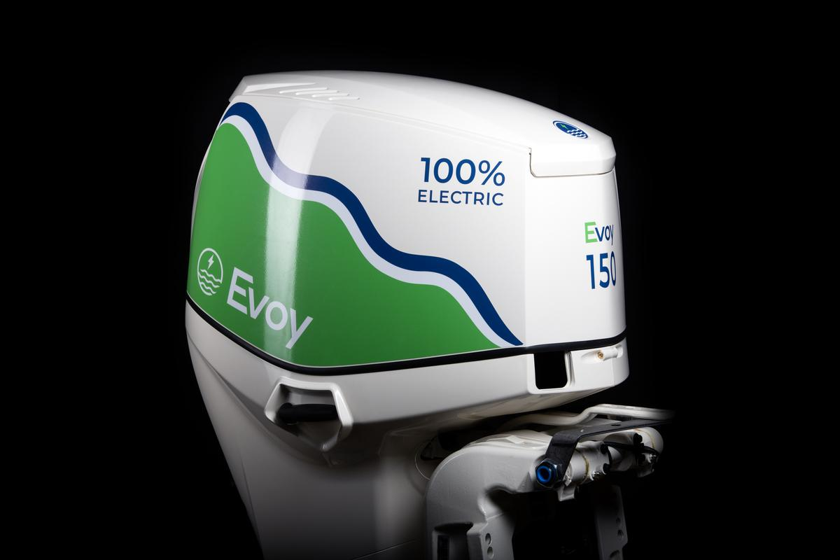 The Evoy Pro will launch as the most powerful production electric outboard you can buy