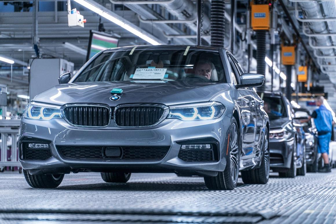 BMWputs the finishing touches on the 5 Series