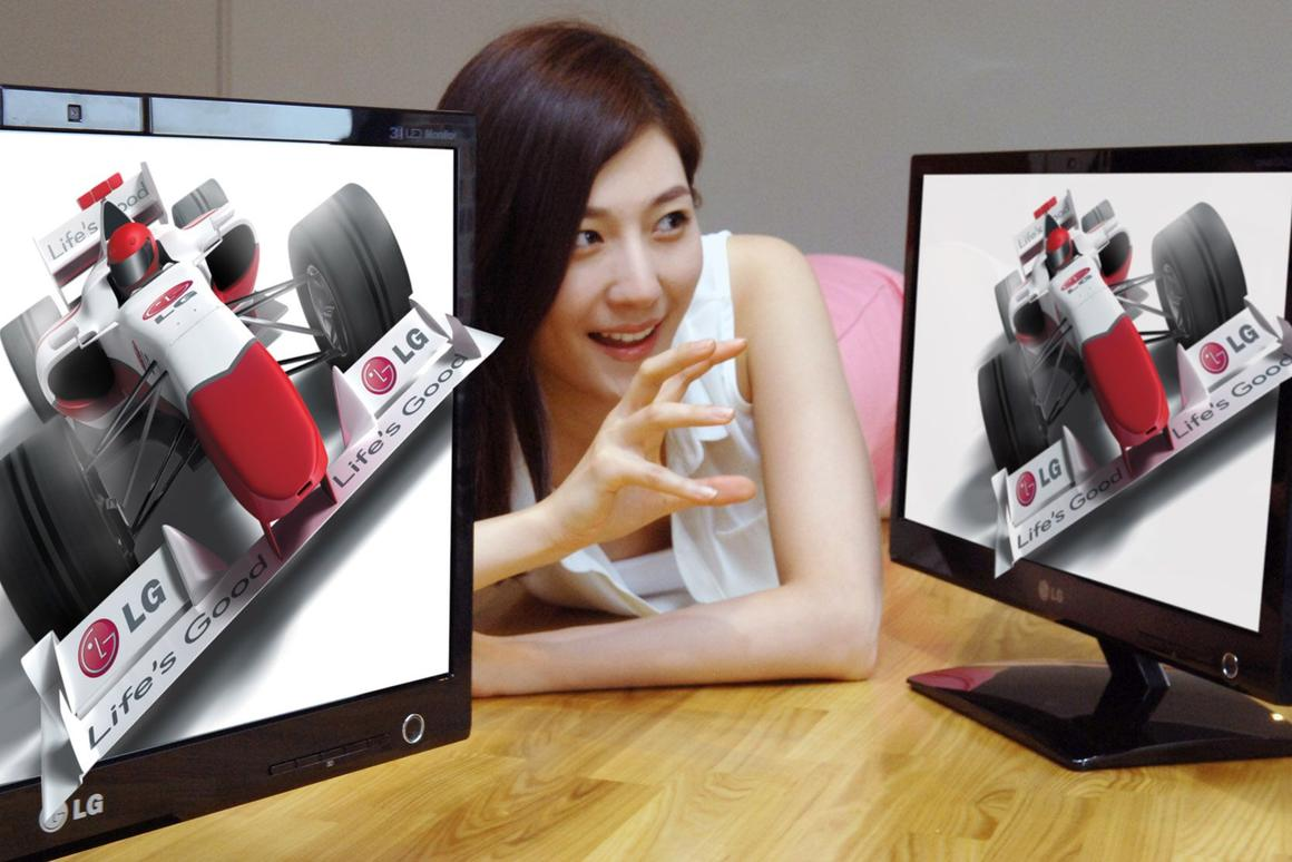 LG presents glasses-free 3D display LG DX2000 utilizing webcam-based eye-tracking technology